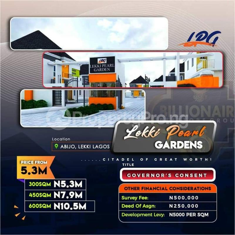 Serviced Residential Land Land for sale 2 minutes Off Lekki-Epe Expressway and 10 minutes to Shoprite  Abijo Ajah Lagos - 4