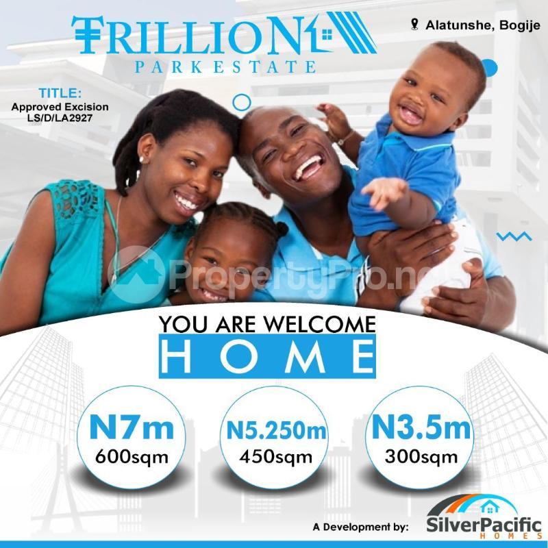 Residential Land Land for sale Trillion Park Estate Bogije Sangotedo Lagos - 2