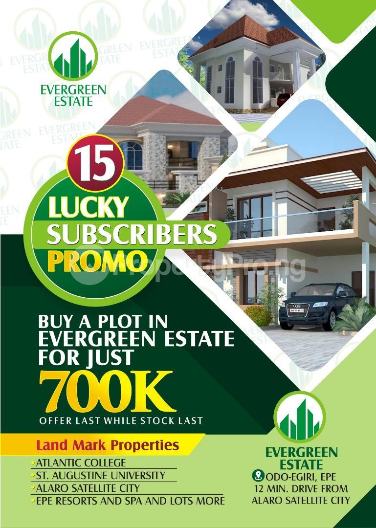 Residential Land Land for sale ODO EGIRI Epe Road Epe Lagos - 1