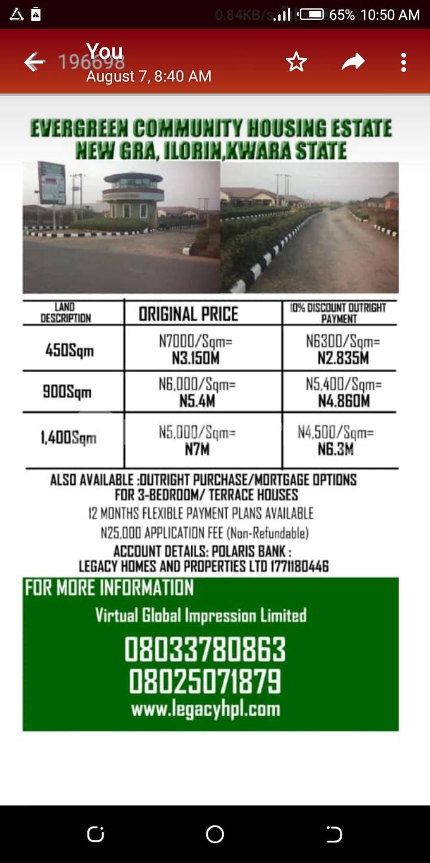 Residential Land Land for sale Taoheed Road,New GRA,Ilorin, Ilorin Kwara - 2