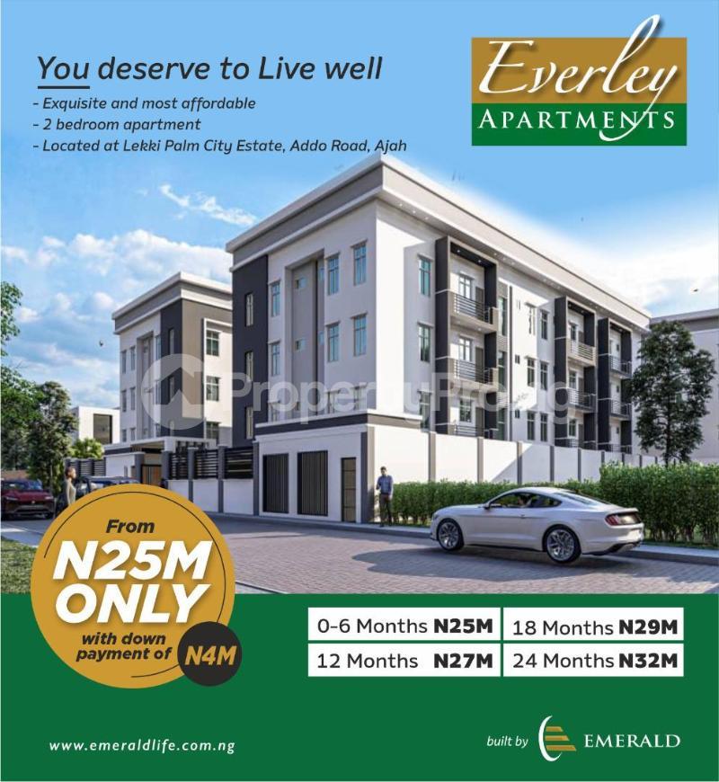 2 bedroom Blocks of Flats House for sale Lekki Palm City Estate Lekki Gardens estate Ajah Lagos - 0
