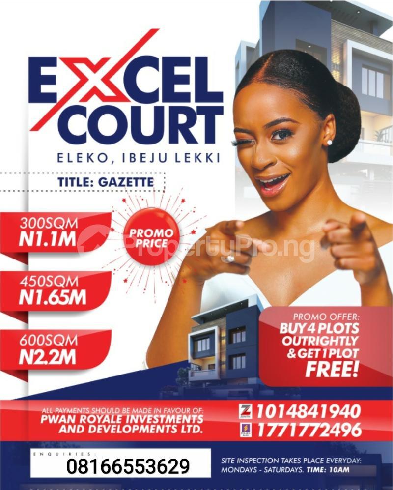Serviced Residential Land Land for sale LaCampaigne Tropicana Ibeju-Lekki Lagos - 0
