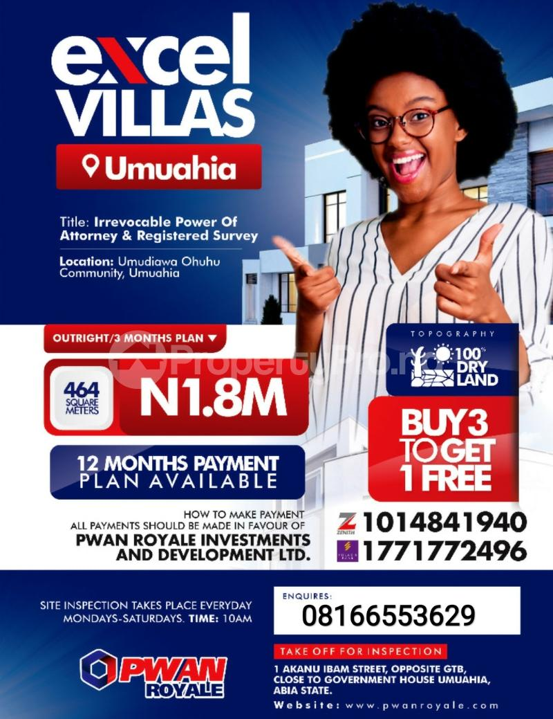 Serviced Residential Land Land for sale Umuahia North Abia - 0