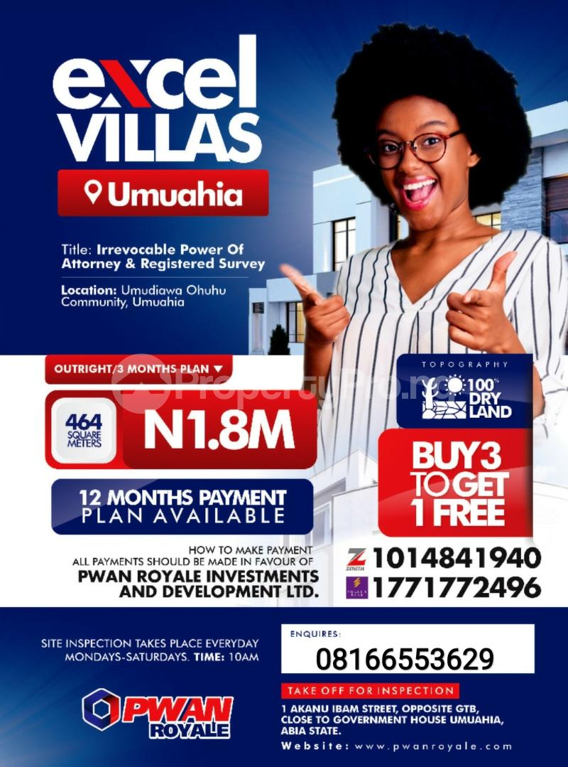 Serviced Residential Land Land for sale Umuahia South Abia - 0