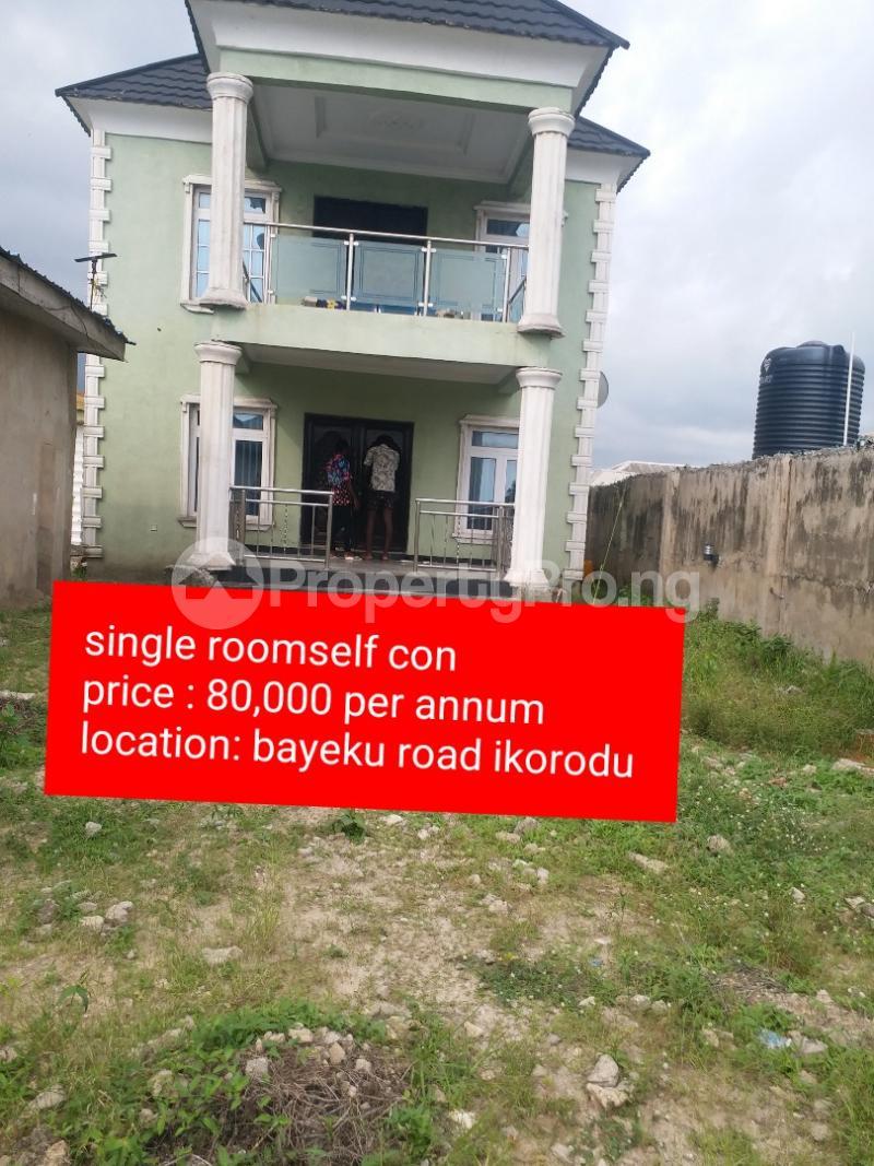 1 bedroom mini flat  Studio Apartment Flat / Apartment for rent D LAW STREET Igbogbo Ikorodu Lagos - 14