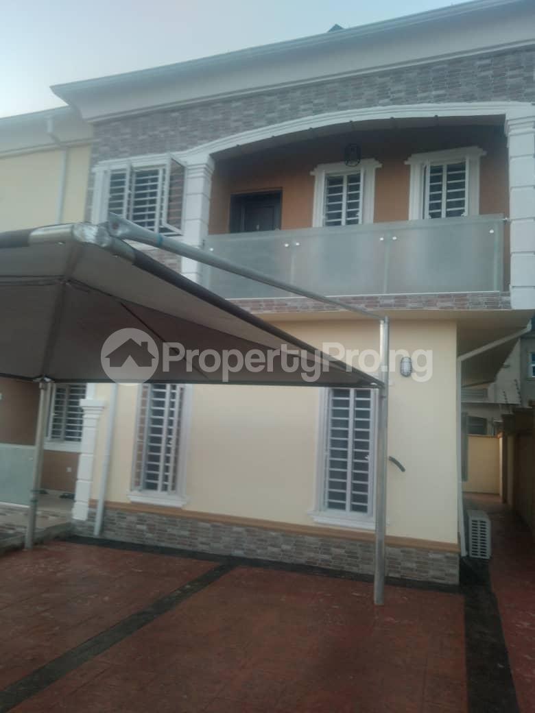 4 bedroom Terraced Duplex House for rent Located at Valley View Estate off Ebute/Igbogbo Road Ebute Ikorodu Lagos - 1