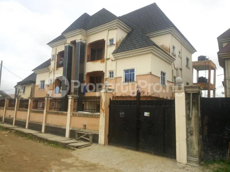 3 bedroom Blocks of Flats House for sale Green Field estate Ago palace Okota Lagos - 0