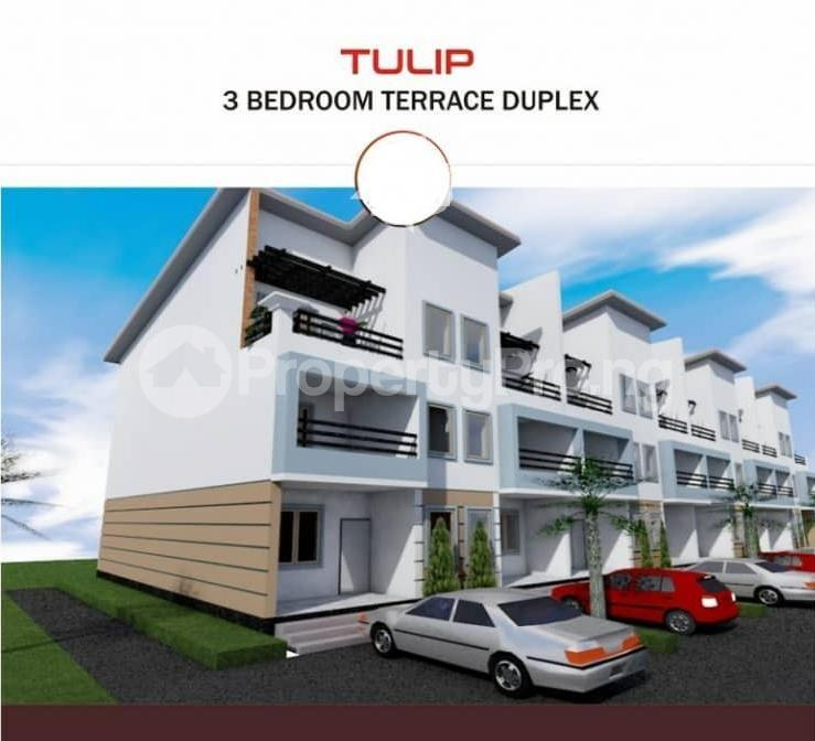 3 bedroom Terraced Duplex House for sale PP Estate - Jabi Airport Road Jabi Abuja - 0