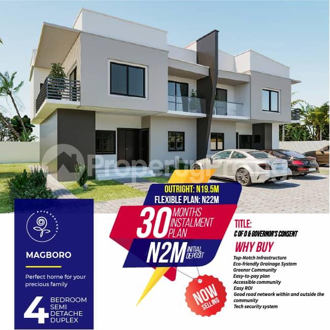 4 bedroom Semi Detached Duplex House for sale Magboro, 5 minutes drive from Journalist Estate Arepo and PUNCH newspaper and few minutes from Alausa Ikeja. Magboro Obafemi Owode Ogun - 7