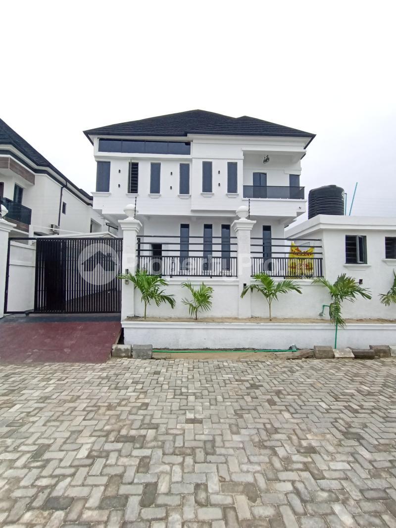 5 bedroom Detached Duplex for sale Off Chevron Drive, Gated Estate chevron Lekki Lagos - 1