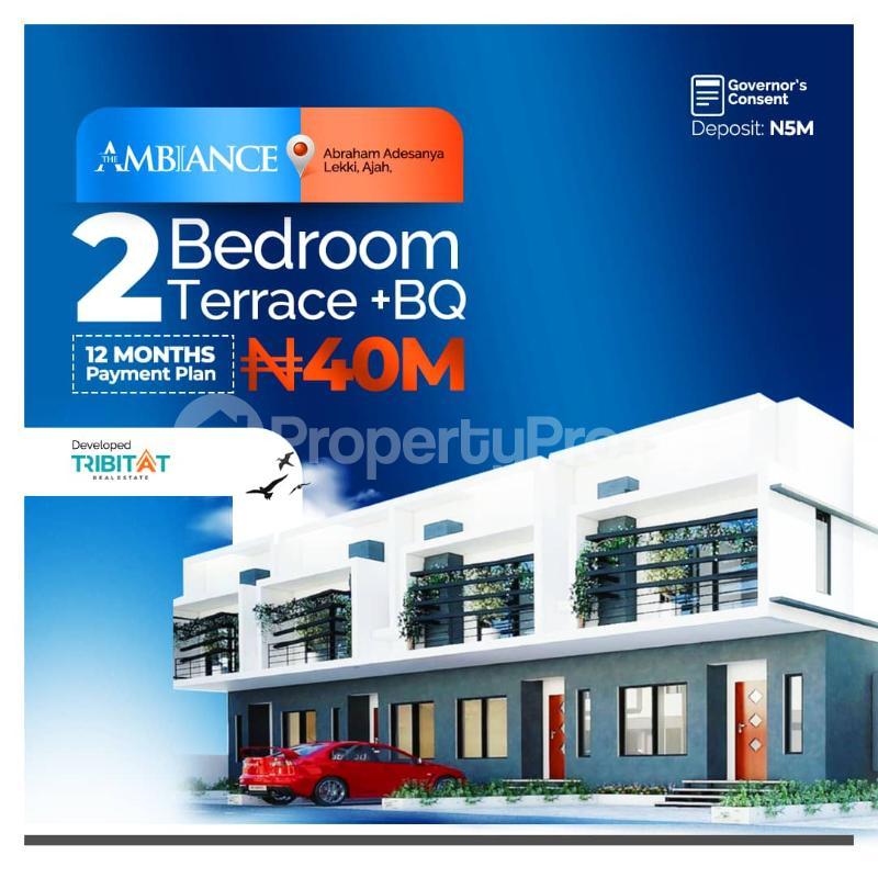 4 bedroom Detached Duplex for sale Abraham Adesanya By Atlantic Layout Estate Abraham adesanya estate Ajah Lagos - 1