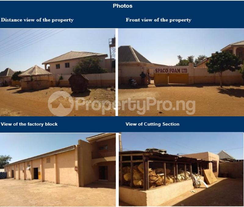 Factory Commercial Property for sale Factory Located At Kantin Daji Area, Off Sokoto Furniture Road, Sokoto North Local Government Area, Sokoto State. Sokoto North Sokoto - 0