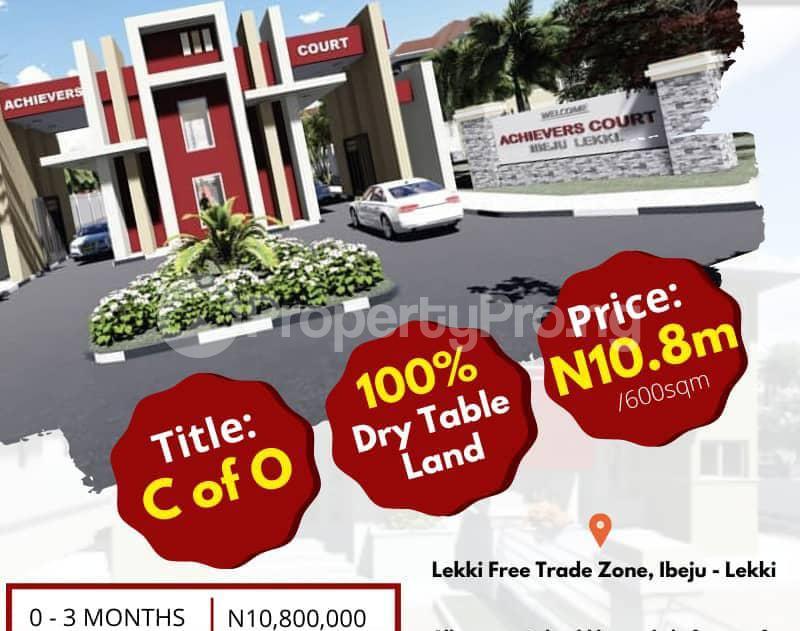Land for sale Oshoroko Village Just 5 Mins Drive From Dangote Refinery Ibeju-Lekki Lagos - 0