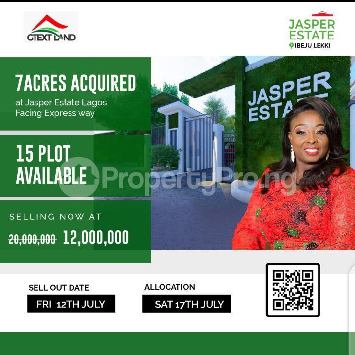 Land for sale Jasper Estate Ibeju-Lekki Lagos - 0