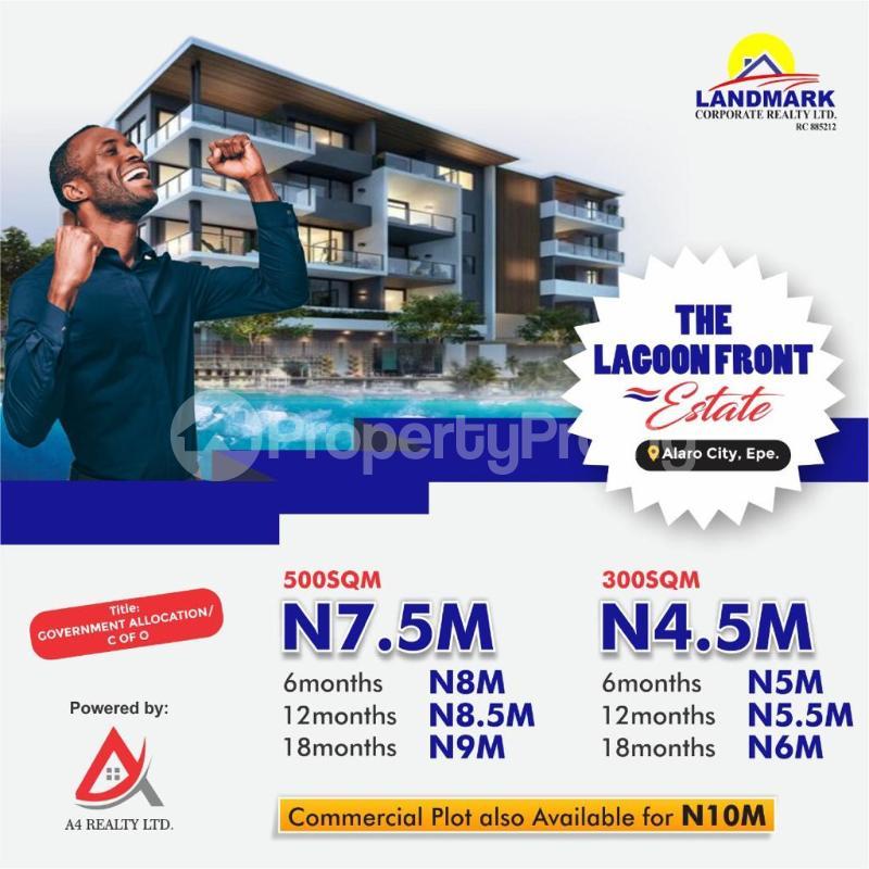 Land for sale Alaro City, Epe Epe Road Epe Lagos - 0