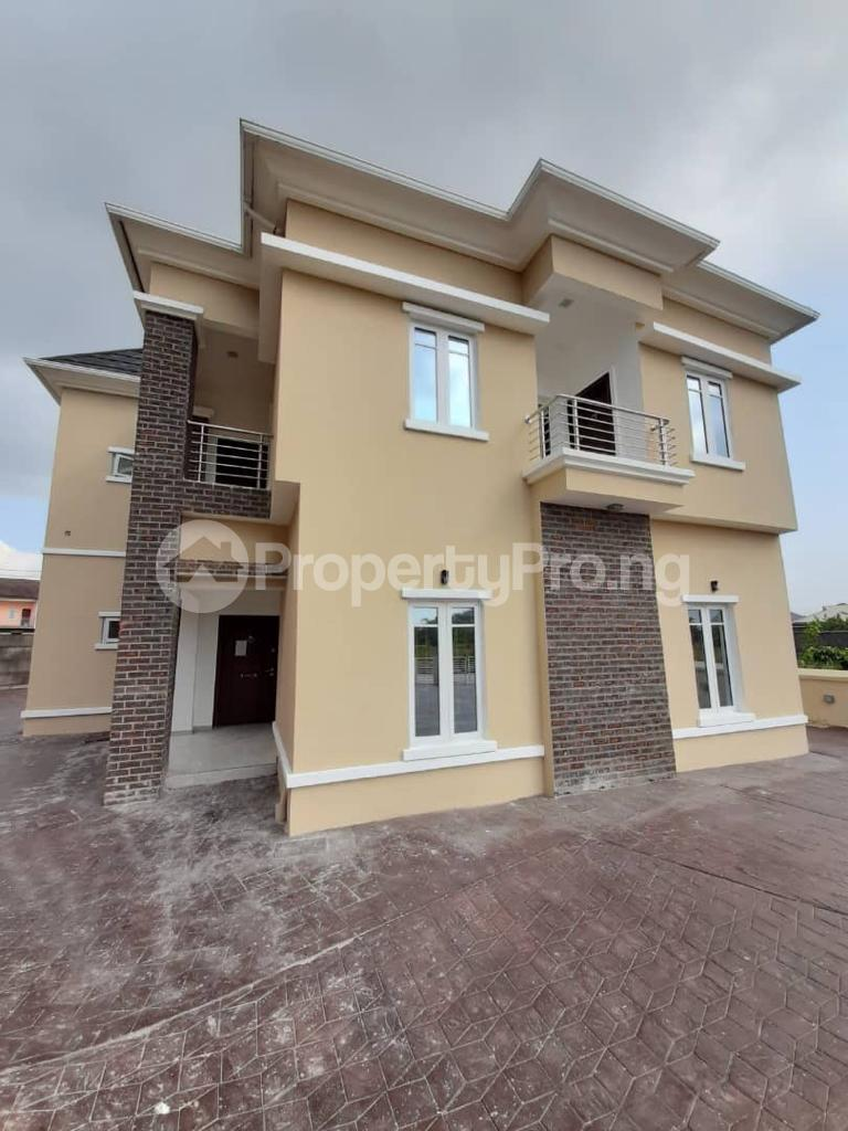 5 bedroom House for sale In An Estate Along Abraham Adesanya/ogumbo Road Close To Abraham Adesanya Roundabout Lekki Lagos - 5