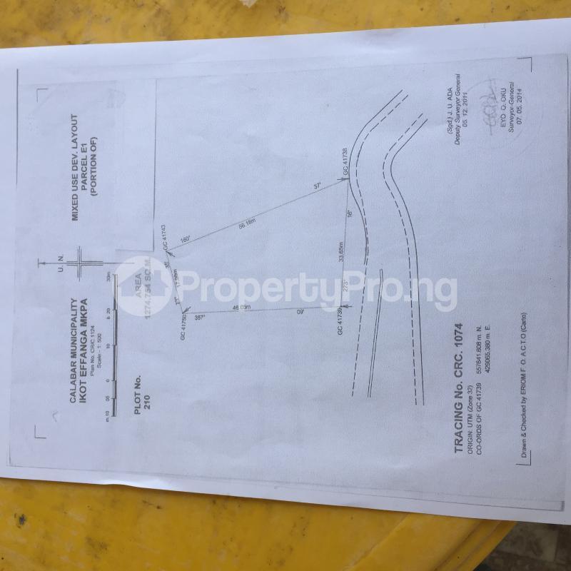 Residential Land Land for sale E1 Estate, Lemna Road Calabar Cross River - 0