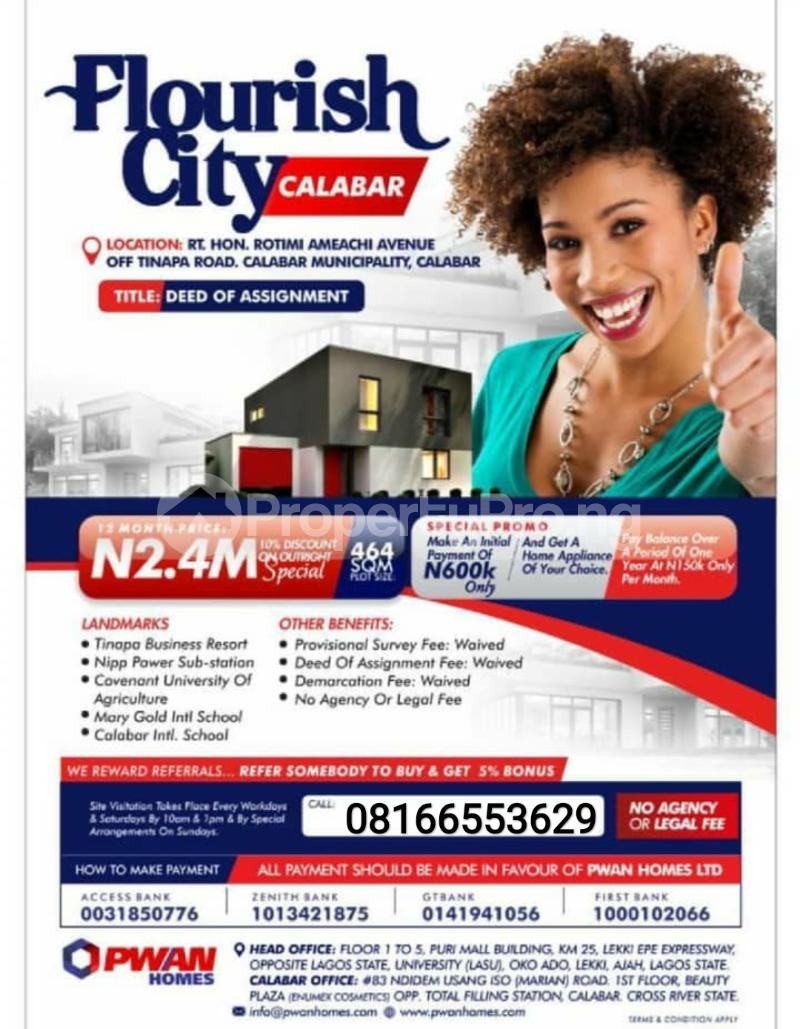 Mixed   Use Land for sale Calabar Cross River - 0