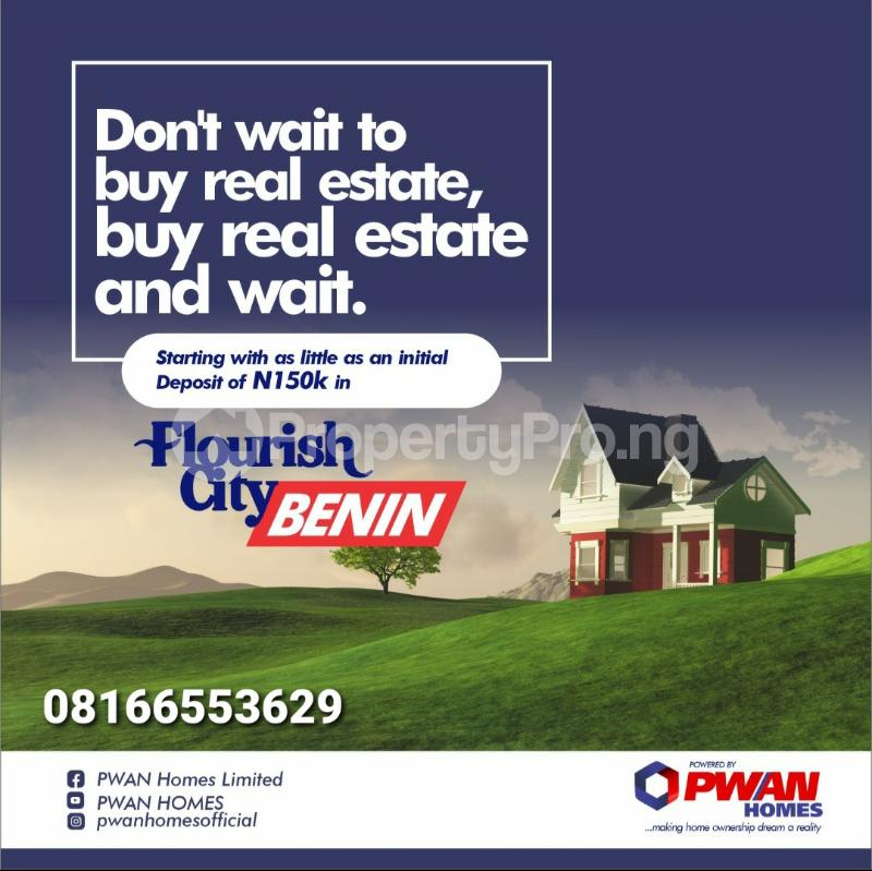 Serviced Residential Land for sale Central Edo - 0