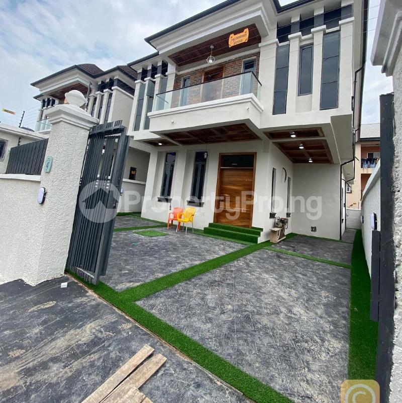 5 bedroom Detached Duplex for rent Just Directly Facing Chevron chevron Lekki Lagos - 0