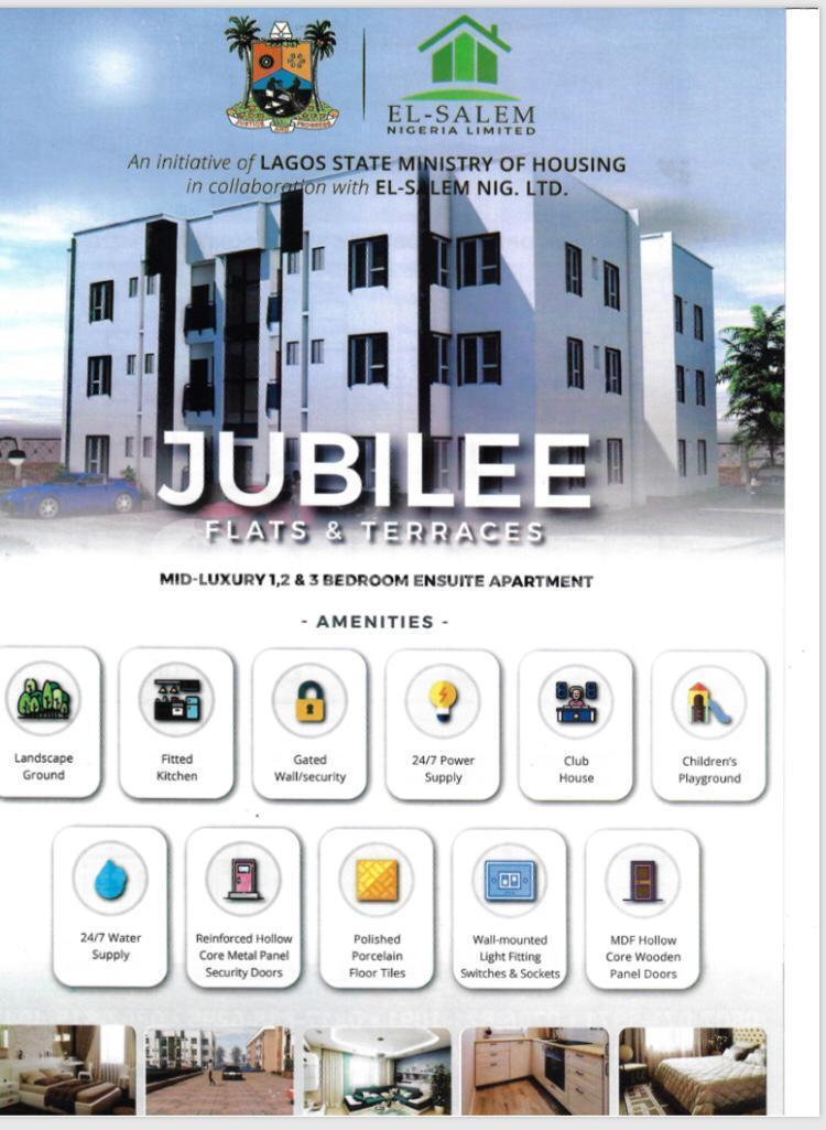 1 bedroom Flat / Apartment for sale Abraham adesanya estate Ajah Lagos - 5