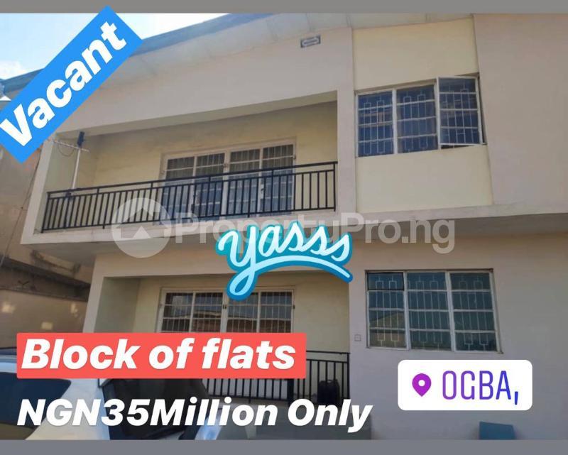 4 bedroom House for sale Off Oyatogun Oke-Ira Ogba Lagos - 0
