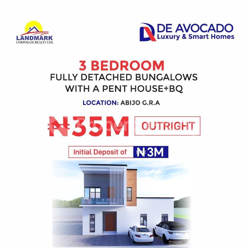 3 bedroom Semi Detached Bungalow House for sale Abijo Gra  Lekki Lagos - 1
