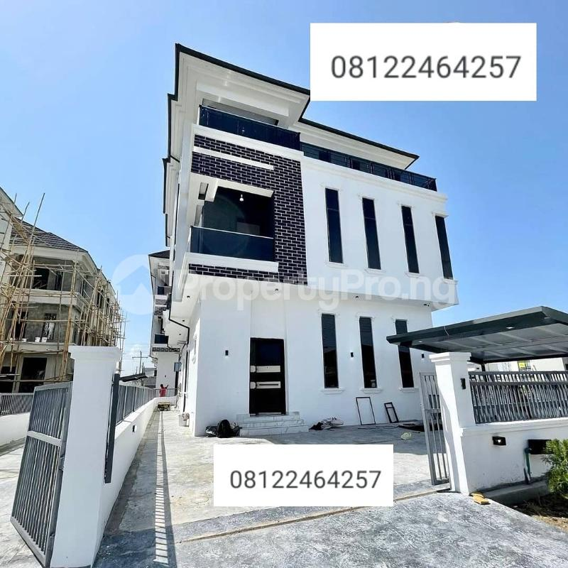 5 bedroom Detached Duplex House for sale 2nd toll gate chevron Lekki Lagos - 0