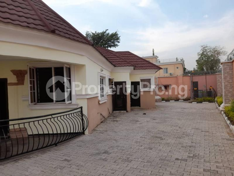 4 bedroom Semi Detached Bungalow House for rent Off Nike Lake Street Maitama Abuja - 1