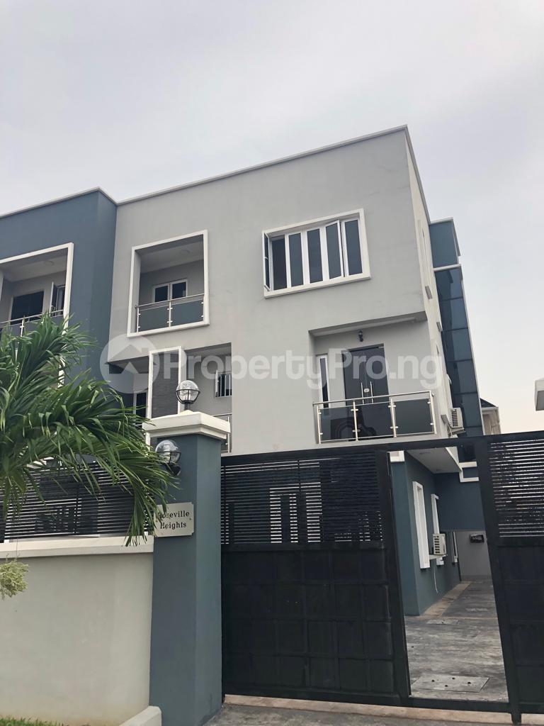 4 bedroom Flat / Apartment for rent Abasa Estate by Osborne Abacha Estate Ikoyi Lagos - 0