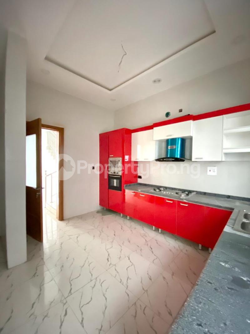 4 bedroom Semi Detached Duplex House for rent chevron Lekki Lagos - 4