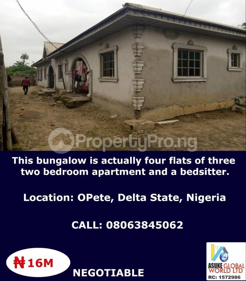 House for sale Opete Delta state Nigeria Warri Delta - 0
