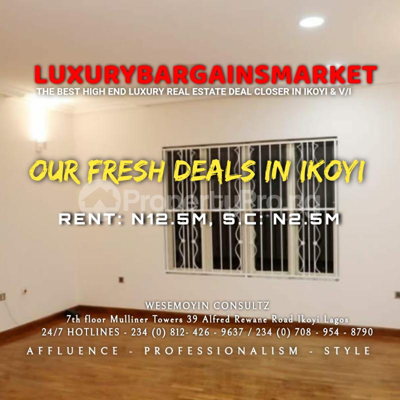 4 bedroom Semi Detached Duplex House for rent Osborne Foreshore Estate Ikoyi Lagos - 5