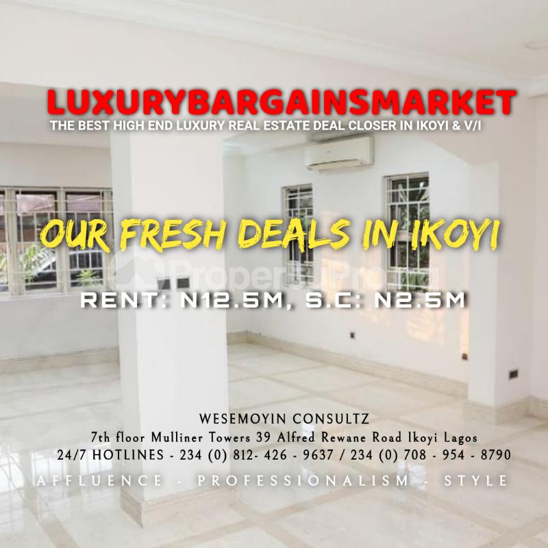 4 bedroom Semi Detached Duplex House for rent Osborne Foreshore Estate Ikoyi Lagos - 2