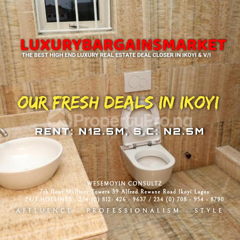 4 bedroom Semi Detached Duplex House for rent Osborne Foreshore Estate Ikoyi Lagos - 4
