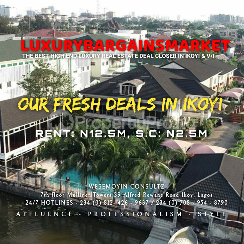 4 bedroom Semi Detached Duplex House for rent Osborne Foreshore Estate Ikoyi Lagos - 6