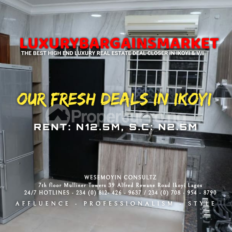 4 bedroom Semi Detached Duplex House for rent Osborne Foreshore Estate Ikoyi Lagos - 3