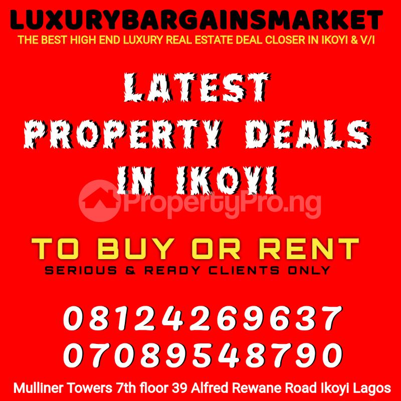 4 bedroom Semi Detached Duplex House for rent Osborne Foreshore Estate Ikoyi Lagos - 7