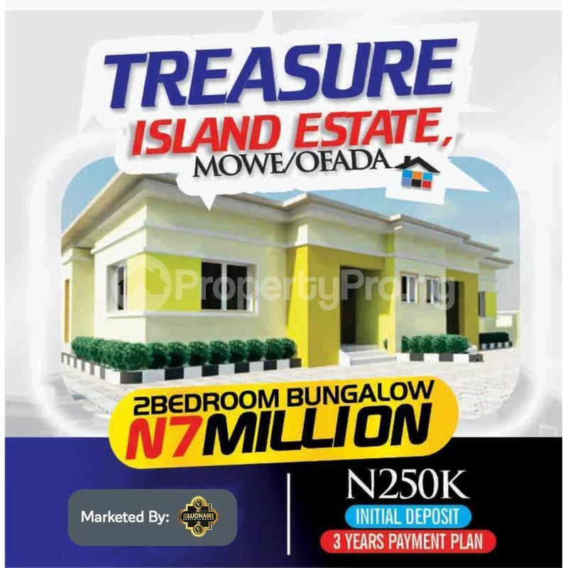 2 bedroom Semi Detached Bungalow for sale Treasure Island Estate, Mowe Ofada Ofada Obafemi Owode Ogun - 0