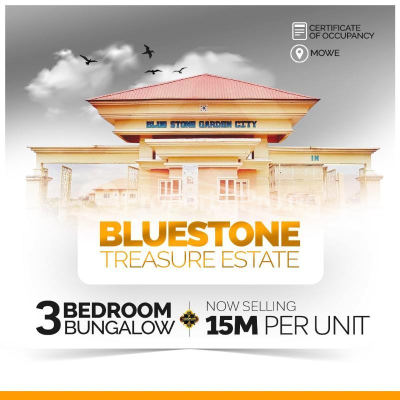 3 bedroom Detached Bungalow House for sale Bluestone Treasure Estate Mowe Obafemi Owode Ogun - 0