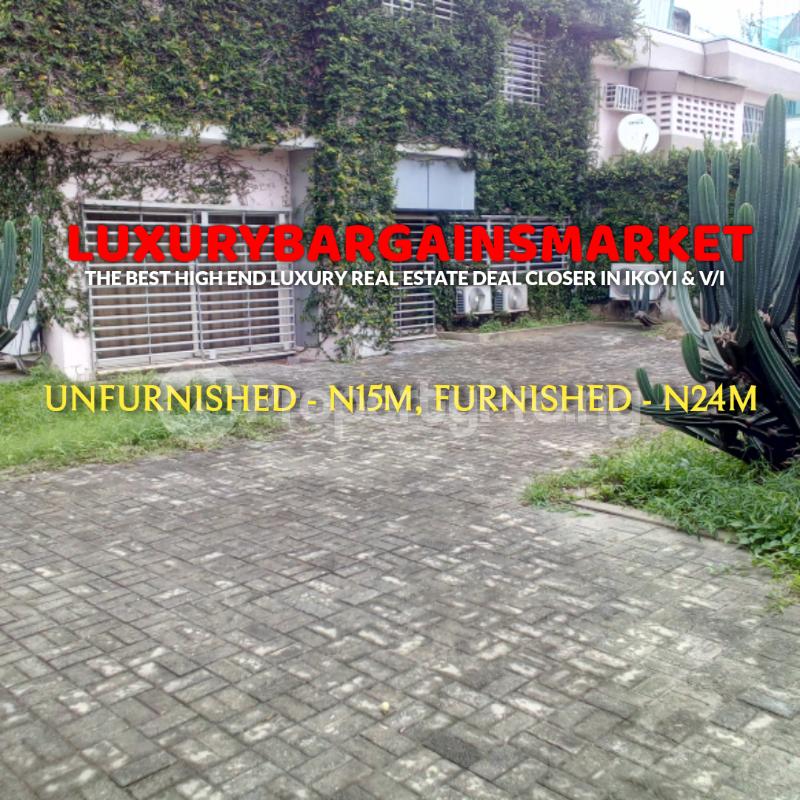 4 bedroom Detached Duplex House for rent Ademola Adetokunbo Victoria Island Lagos - 5