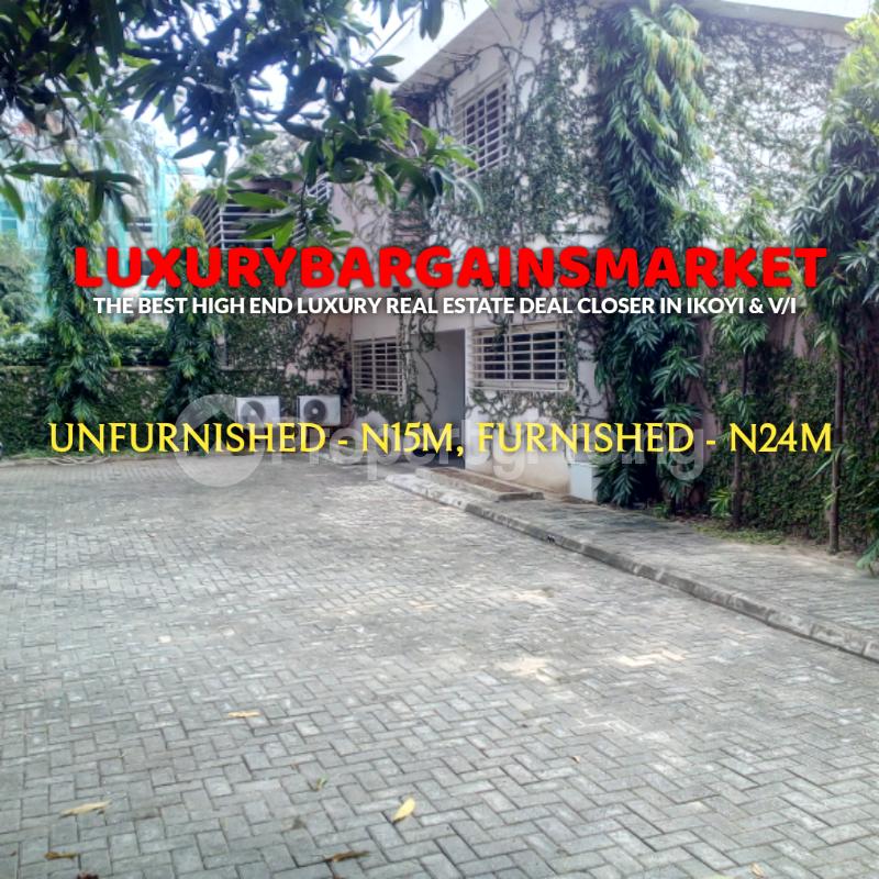 4 bedroom Detached Duplex House for rent Ademola Adetokunbo Victoria Island Lagos - 1