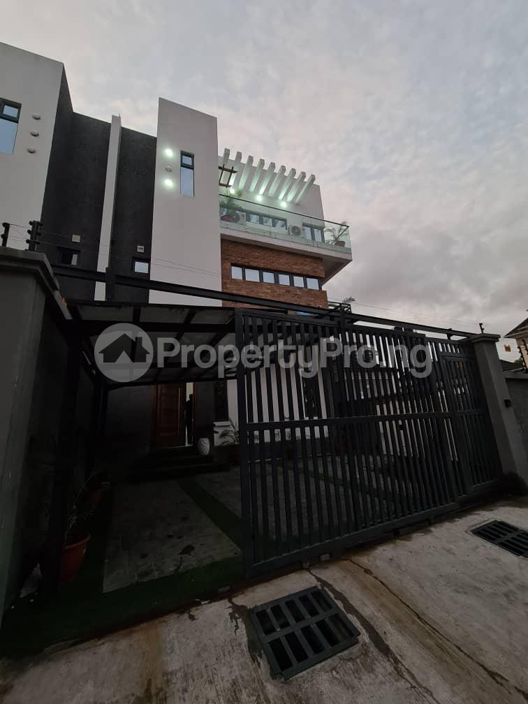 4 bedroom Detached Duplex for shortlet Osapa Osapa london Lekki Lagos - 1