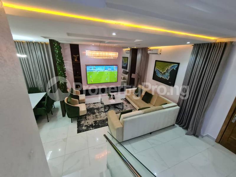 4 bedroom Detached Duplex for shortlet Osapa Osapa london Lekki Lagos - 9