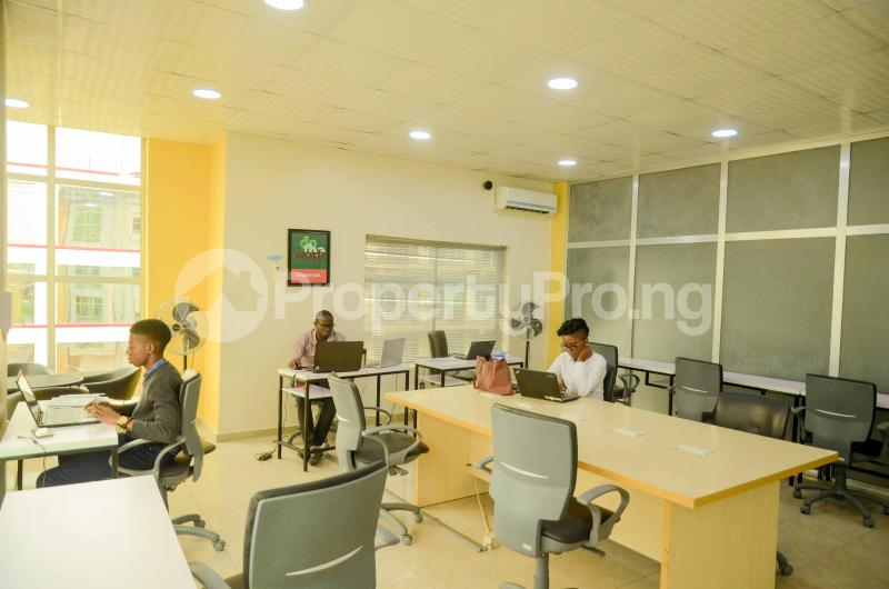 Private Office Co working space for rent 2nd Floor, Garnet Building Igbo-efon Lekki Lagos - 1