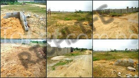 Residential Land for sale Directly Beside Lafarge Staff Estate Quarters Lapeleke Town Abese Ewekoro Ogun - 1