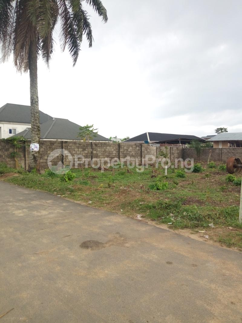 Land for sale AIT Estate Magbuoba Port Harcourt Rivers - 1