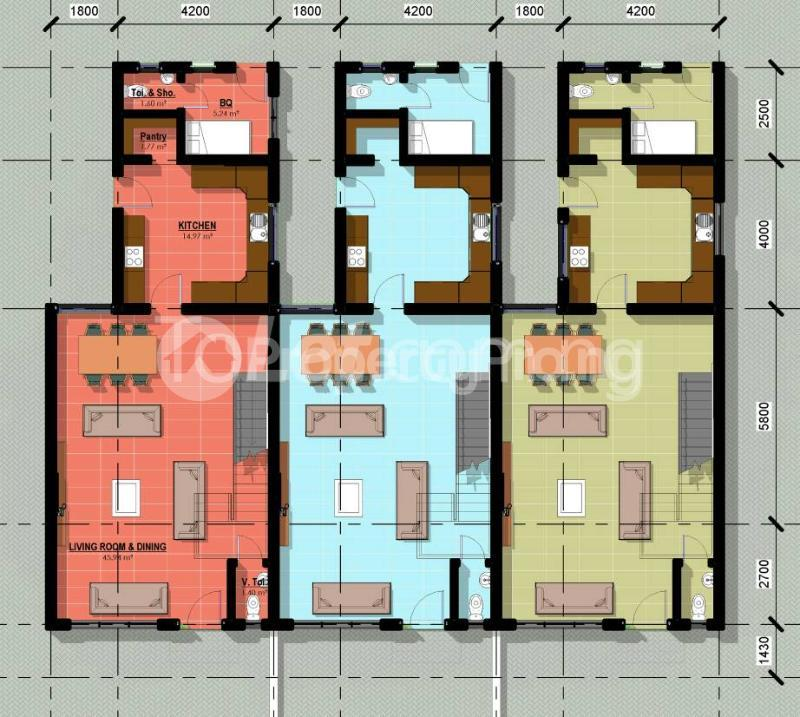 4 bedroom Blocks of Flats for sale Salvation Road, Awuse Estate, After Sheraton Opebi Ikeja Lagos - 24
