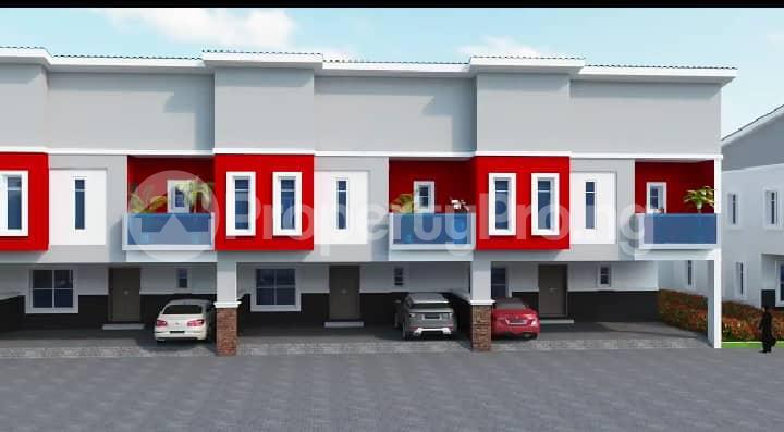 4 bedroom Terraced Bungalow House for sale Between Chevron and VGC, Opposite Lekki County Homes, Ikota, Creek Avenue Court Ikota Lekki Lagos - 9