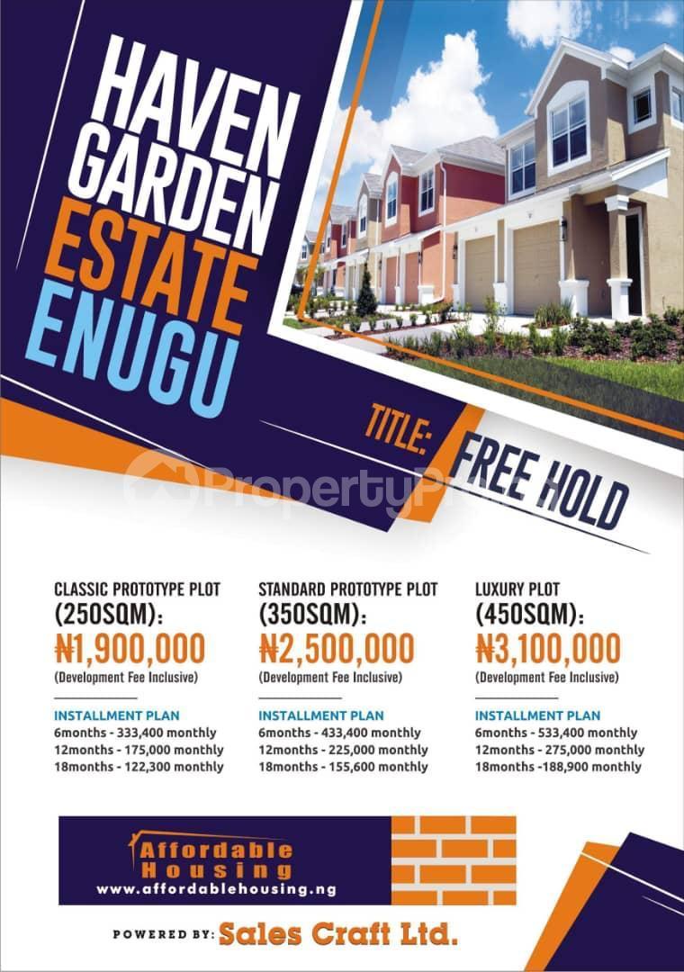 Residential Land Land for sale Along UDI Road by Four Corner Junction, Enugu Udi Agwu Enugu - 1